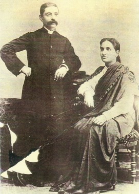 Imambux Bawa with wife Shevanti
